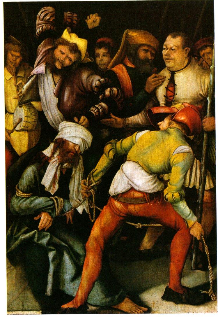 Verspottung Christi  Matthias Grünewald 1503