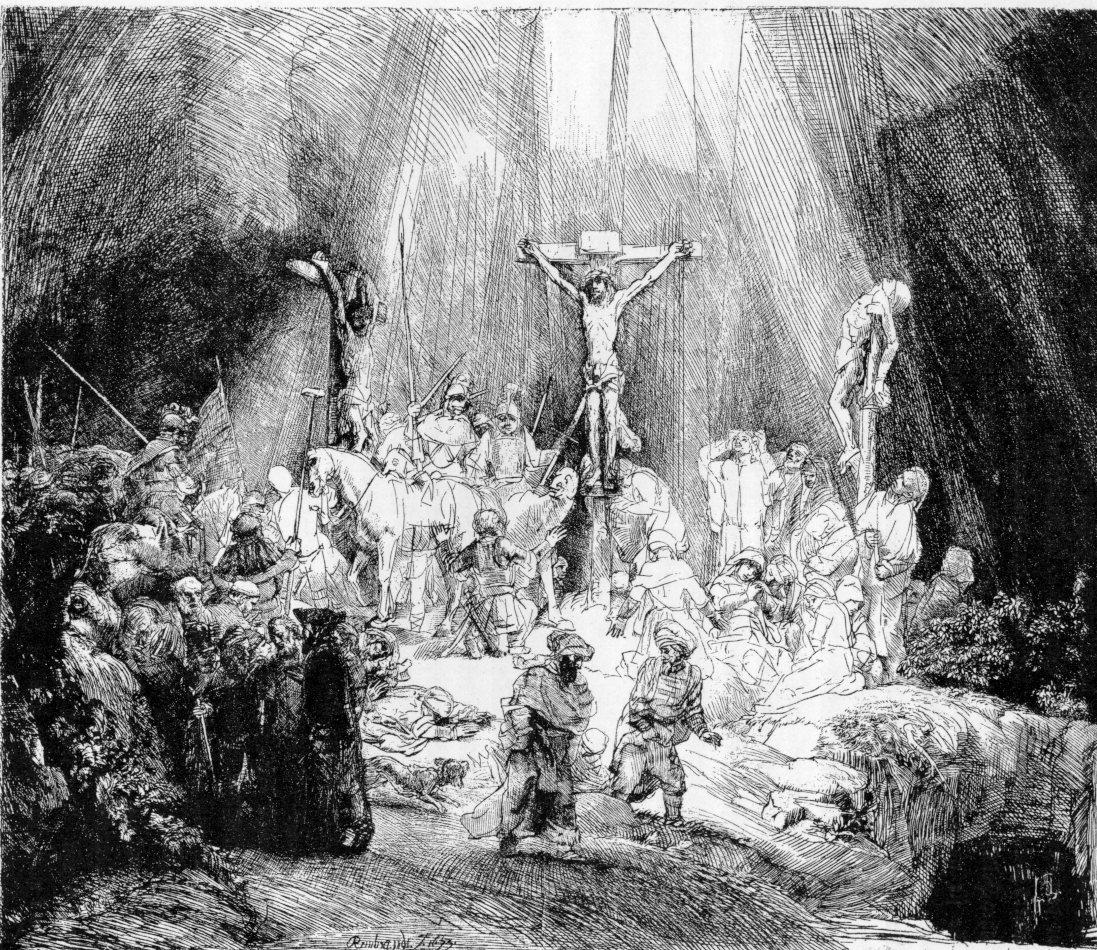Rembrandt Die Drei Kreuze