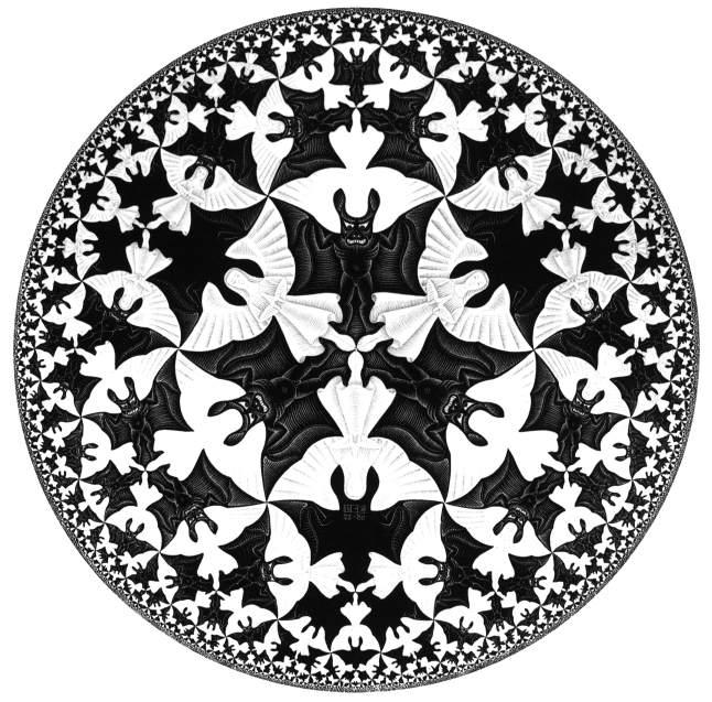 il cerchio di escher